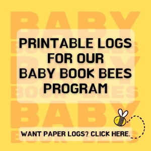 Baby Book Bees Print Paper Log